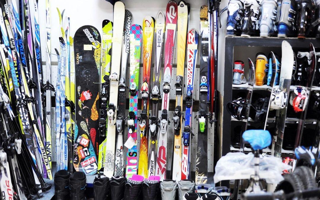 Большая распродажа горнолыжного и сноубордического снаряжения!